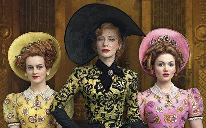 Cate Blanchett es la madrastra en un nuevo cartel de Cenicienta