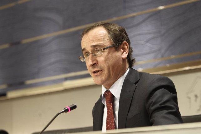 Alfonso Alonso, portavoz del Grupo Popular