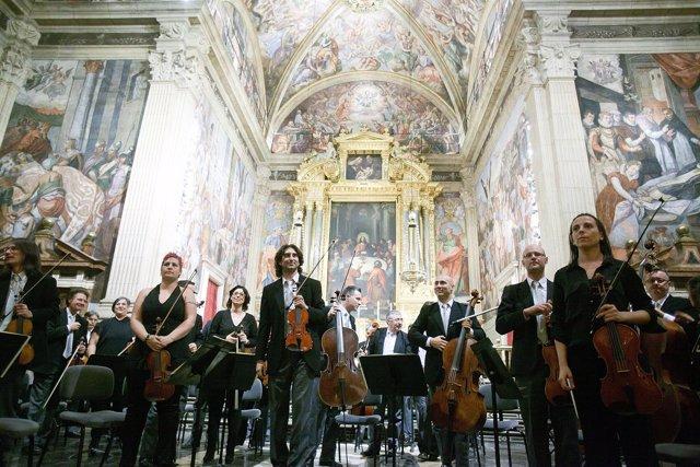 La Orquesta de Valencia visita La Beneficencia
