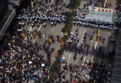 Los estudiantes de Hong Kong se niegan a poner fin a las protestas, desafiando a los impulsores de las mismas