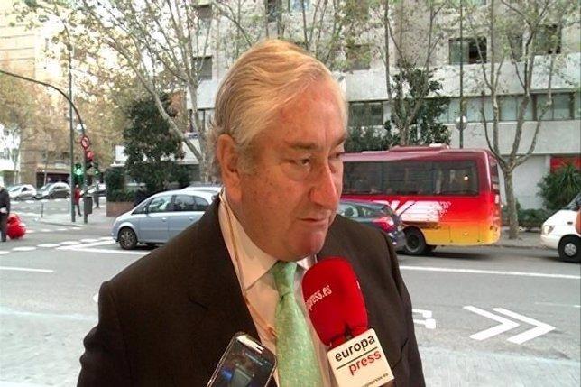 Javier Rodríguez , consejero de Sanidad de la Comunidad de Madrid