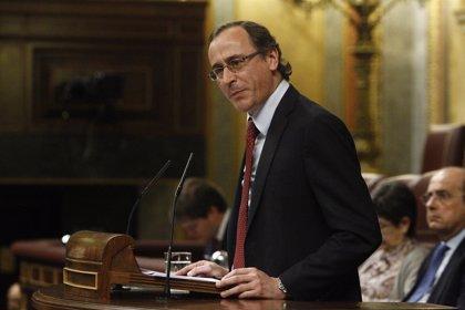 Alfonso Alonso jurará hoy su cargo como nuevo ministro de Sanidad en el Palacio de la Zarzuela