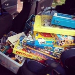 Juegos, juguetes, Navidad