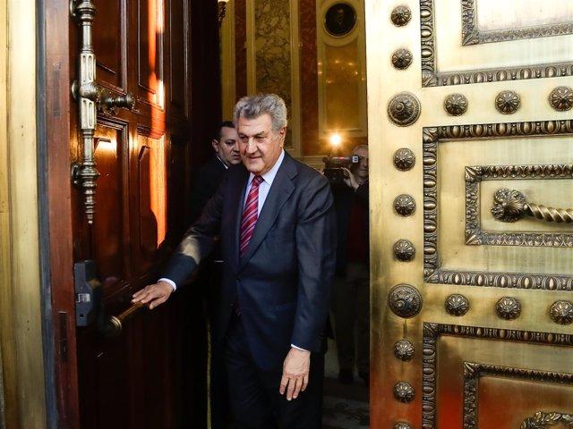 Jesús Posada, presidente del Congreso, en las Jornadas de Puertas Abiertas