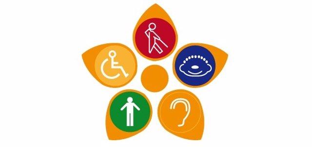 Flor virtual Alares Dia de la Discapacidad