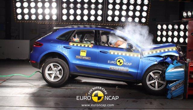 Test de impacto del Porsche Macan