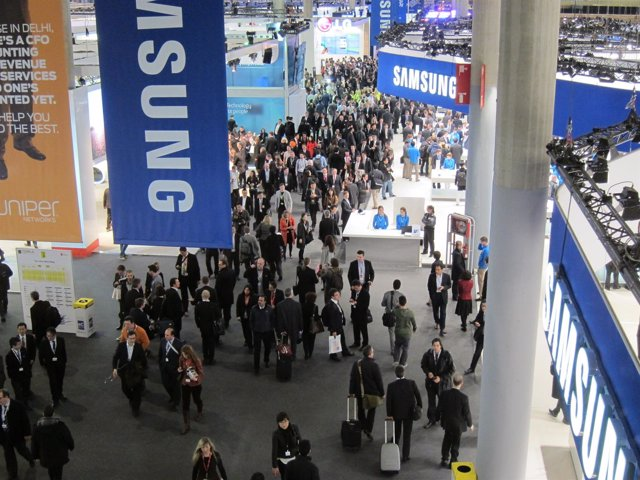 Primera jornada del Mobile World Congress (MWC) 2013
