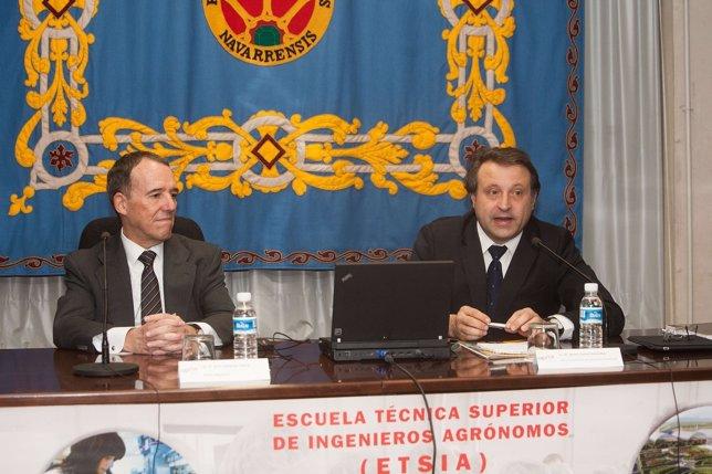 Julio Lafuente y Javier Casalí.