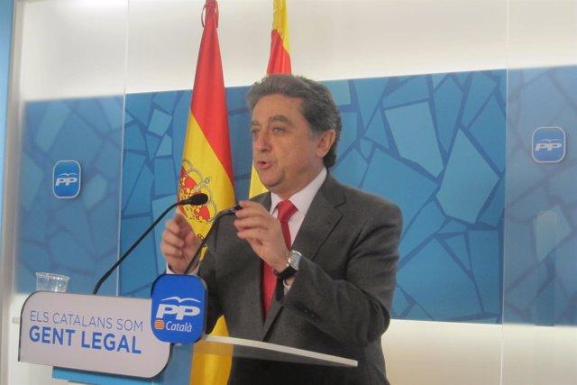 El vicesecretario de Acción Política del PP catalán, Enric Millo