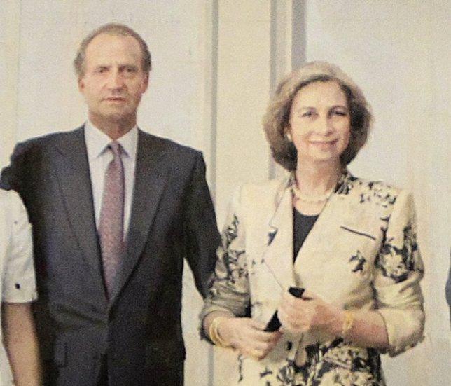 Cuadro de la Familia Real de Antonio López