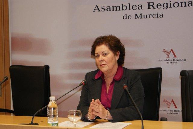 Teresa Rosique En La Asamblea Regional