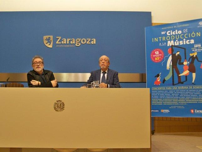 Miguel Angel Tapia y Juan Jose Vázquez