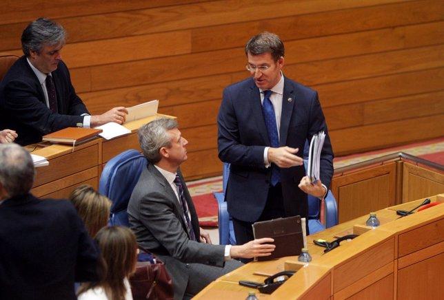 O titular da Xunta, Alberto Núñez Feijóo, responderá ás preguntas dos grupos no
