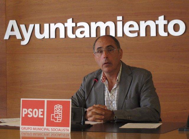 Domingo Dorado, en la rueda de prensa