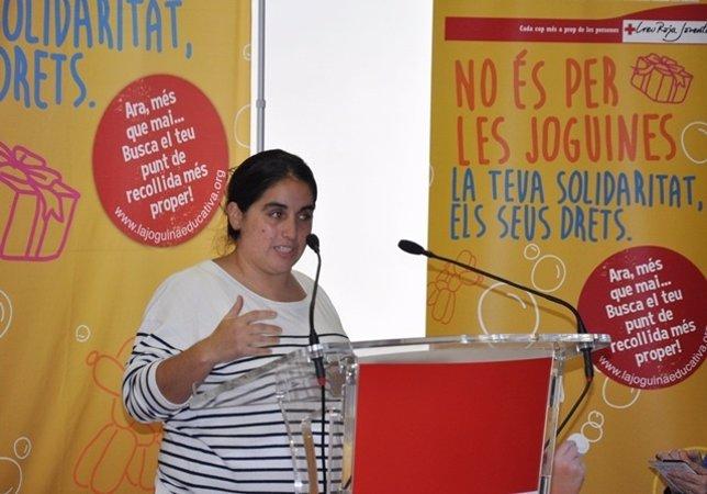 Iolanda Gargallo, dtora.Creu Roja Joventut