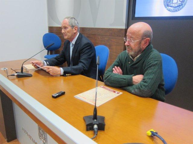 Eduardo Miguel (izquierda) y Gonzalo Fernández.