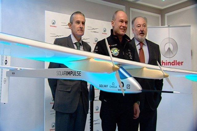 Solar Impulse, primer avión capaz de volar sin combustible
