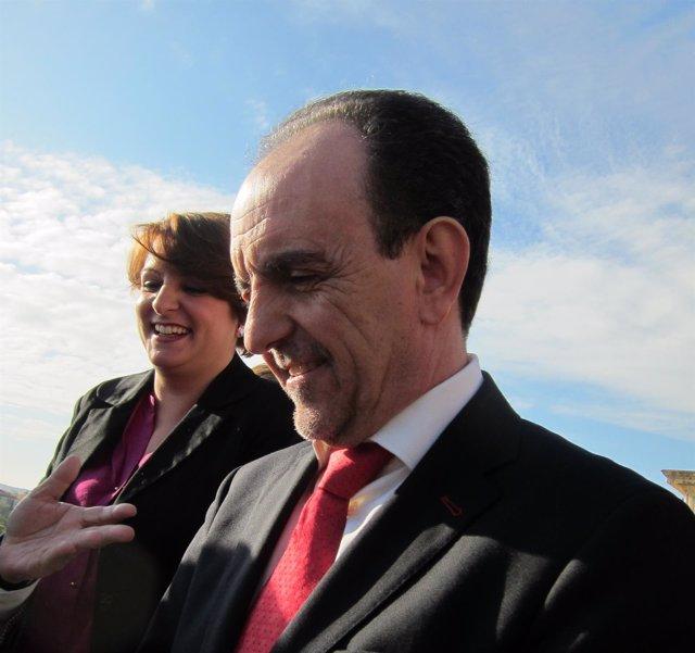 El consejero de Turismo y Comercio de la Junta de Andalucía, Rafael Rodriguez