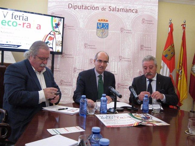 Presentación De La Feria 'Eco-Raya' En Salamanca
