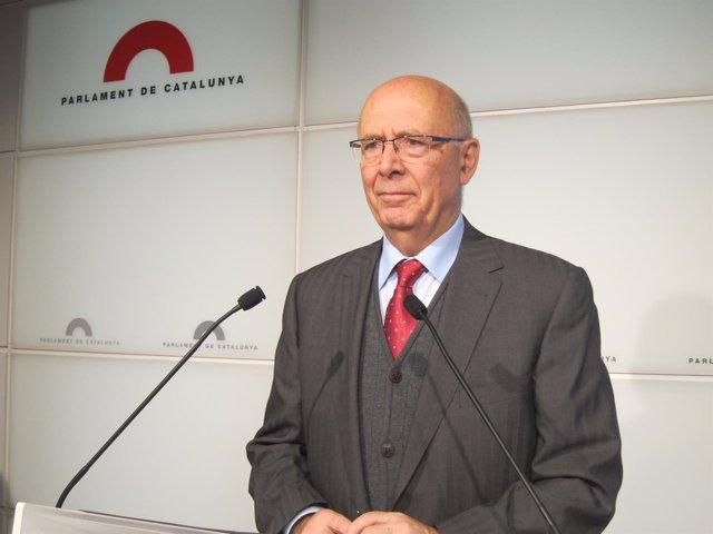 El coordinador del Pacte Nacional pel Dret a Decidir, Joan Rigol