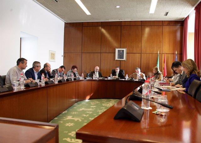 Junta de Portavoces del Parlamento andaluz