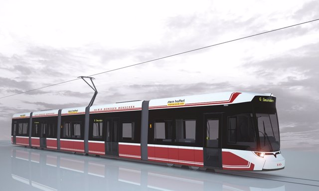 Tranvía que Vossloh suministrará a Austria