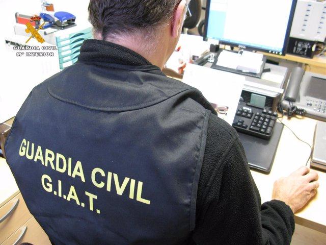Guardia Civil imputa a joven por falsedad documental