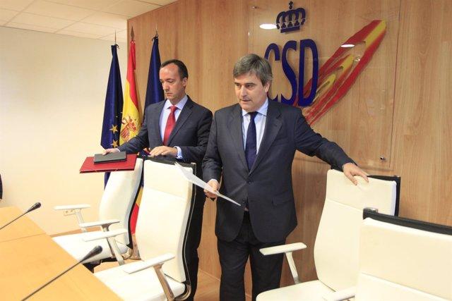 Miguel Cardenal y Francisco Martínez
