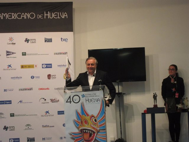 El director del Festival de Cine Iberoamericano, Pedro Castillo Arteta.