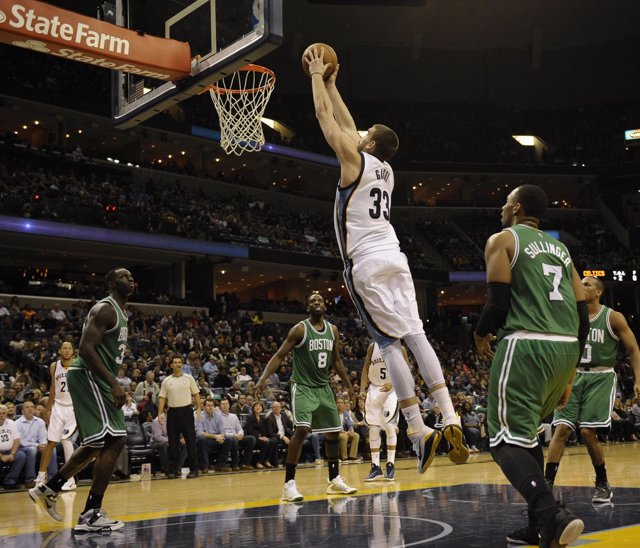 Marc Gasol NBA Boston Celtics Memphis Grizzlies