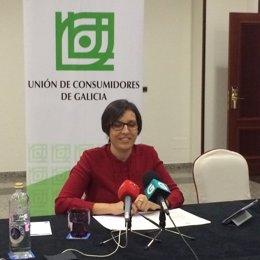Ana Oliveira aclara los datos del estudio de la Unión de Consumidores de Galicia