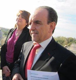 El consejero de Turismo y Comercio de la Junta de Andalucía, Rafael Rodríguez