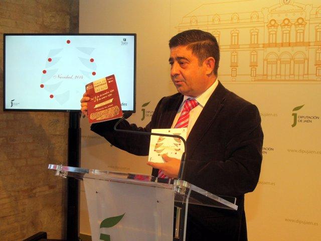 Francisco Reyes presenta las actividades de la Diputación para la Navidad.