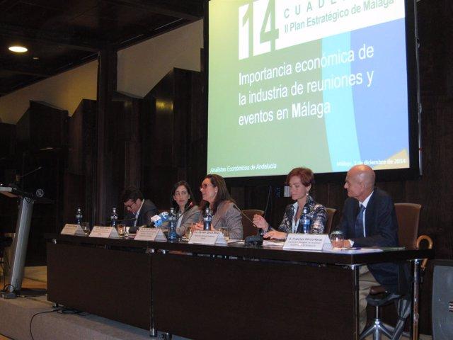 Presentación de informe sobre el impacto de la industria de reuniones en Málaga
