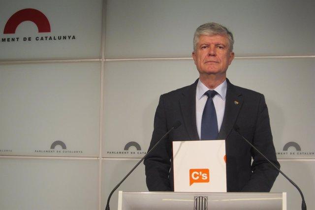 El portavoz de C's, Matías Alonso
