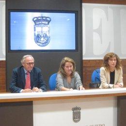 Concejales de Foro en el Ayuntamiento de Oviedo