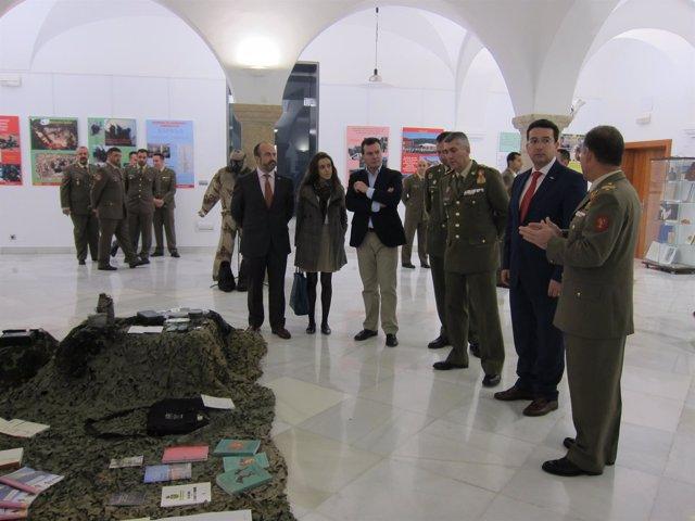 Exposición Ser soldado