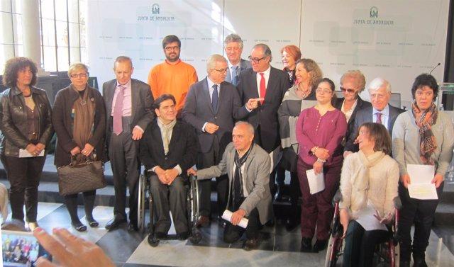 Celebración del Día Internacional de la Discapacidad en San Telmo