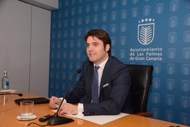 Concejal de Empleo del Ayuntamiento de Las Palmas de Gran Canaria, Jaime Romero