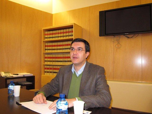 José Luis Ayllón, secretario general del Grupo Popular