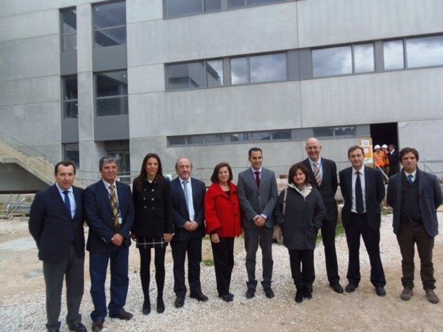 Visita obras hoispital comarcal ronda