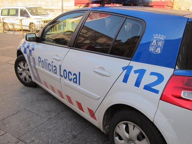 Coche de la Policía Local de Salamanca