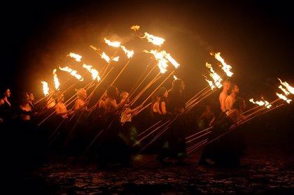 'La Salamandre' despide el Año Greco este sábado en Toledo con un espectáculo de danza y fuego