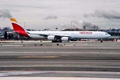 Economía/Empresas.- Iberia aumenta su demanda un 2,3% hasta noviembre e impulsa una subida del 15% en el tráfico de IAG