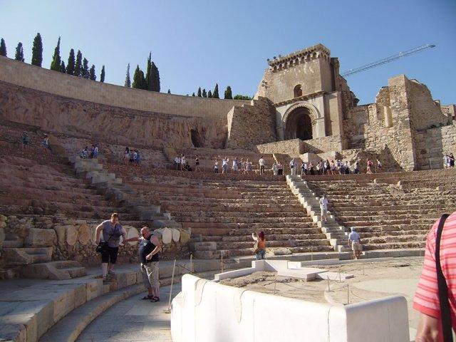 El Teatro Romano amplía su horario de apertura en el Día del Pilar
