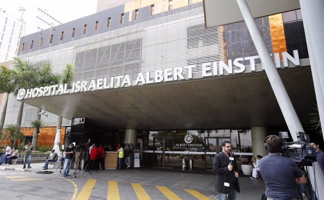 Hospital  Albert Einsten Hospital en Sao Paulo donde está ingresado Pelé