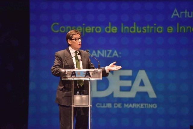 Arturo Aliaga en la inauguración de la Convención de Directivos de ADEA