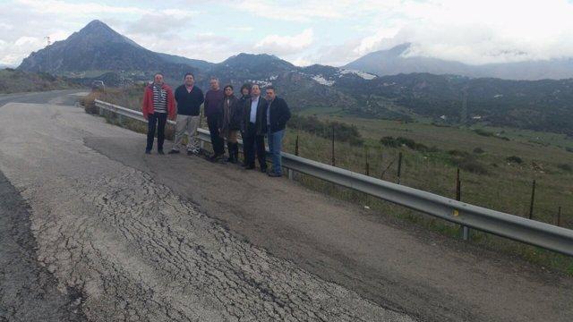A-377 lamentable estado carretera denuncia el PP
