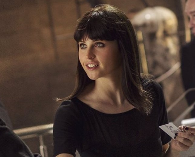 Felicity Jones en The Amazing Spider-Man