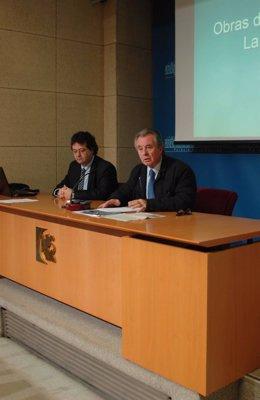 Jurado y Gutiérrez en la rueda de prensa